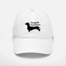 Length Matters Baseball Baseball Cap