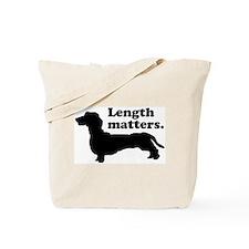 Length Matters Tote Bag