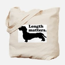 Length Matters Tote Bag