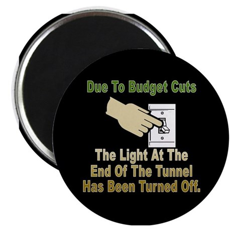 The Light At The End Of The Tunnel is OFF Magnet