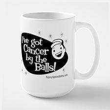 I've Got Cancer by the Balls! Mug