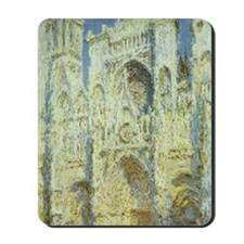 Rouen Cathedral by Claude Monet Mousepad