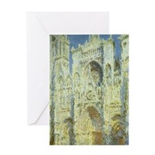 Rouen Cathedral by Claude Monet Greeting Card