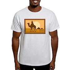 Egypt - Camels Ash Grey T-Shirt