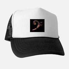 Bass Clef in Metal Trucker Hat