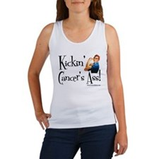 Kickin' Cancer's Ass! Women's Tank Top