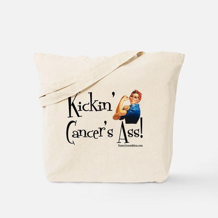 Kickin' Cancer's Ass! Tote Bag
