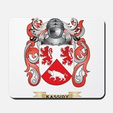 Kassidy Coat of Arms (Family Crest) Mousepad
