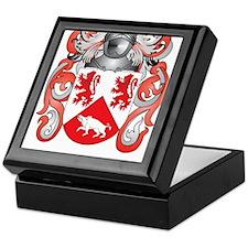Kassidy Coat of Arms (Family Crest) Keepsake Box