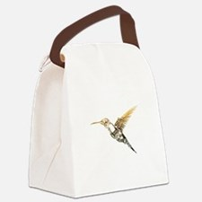 Industrial Hummingbird Canvas Lunch Bag