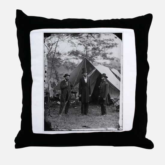 Lincoln by Brady Throw Pillow
