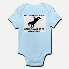 Well Behaved Horses Infant Bodysuit