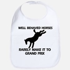 Well Behaved Horses Bib