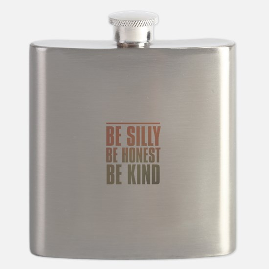 be silly be honest be kind Flask