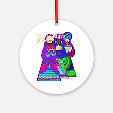 Reyes Magos Ornament (Round)