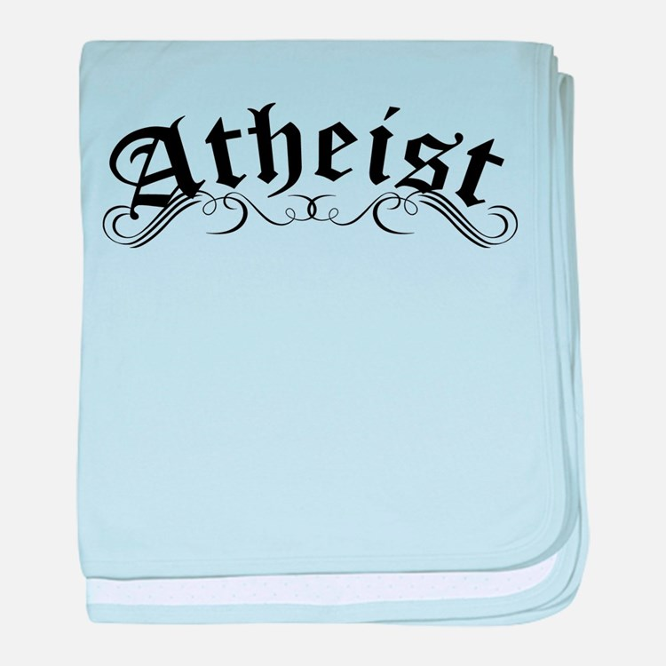 Atheist baby blanket