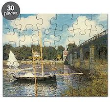 Highway Bridge by Claude Monet Puzzle