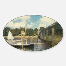 Highway Bridge by Claude Monet Decal