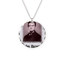 John Brown w text Necklace