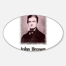 John Brown w text Decal