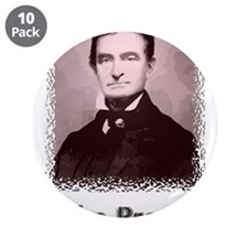 "John Brown w text 3.5"" Button (10 pack)"