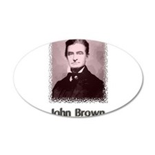 John Brown w text Wall Decal