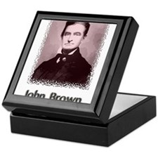 John Brown w text Keepsake Box