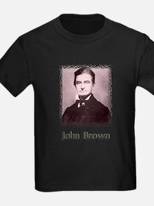 John Brown w text T-Shirt