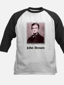 John Brown w text Baseball Jersey