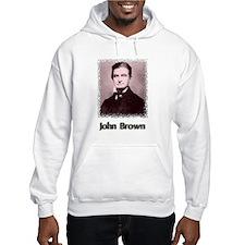 John Brown w text Hoodie