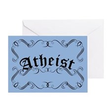 Atheist Greeting Card