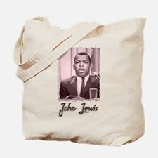 John Lewis w text Tote Bag