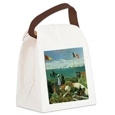 Terrace at the Seaside by Claude  Canvas Lunch Bag