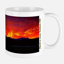 Mug - Stunning Sunset, 3/13/05 Ruidoso
