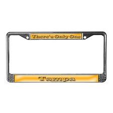 Tampa License Plate Frame