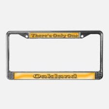 Oakland License Plate Frame