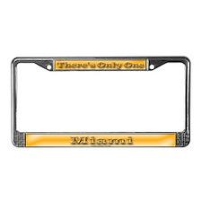 Miami License Plate Frame