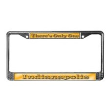 Indianapolis License Plate Frame