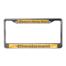 Cincinnati License Plate Frame