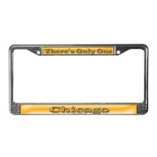 Chicago License Plate Frame