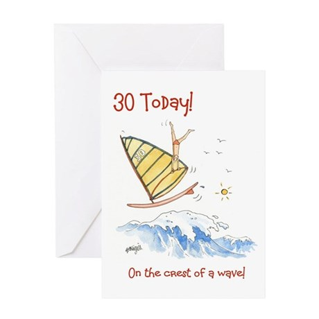 30 Today - crest of a wave