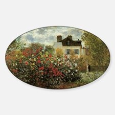Claude Monet's Garden at Argenteuil Decal