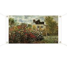 Claude Monet's Garden at Argenteuil Banner