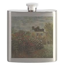 Claude Monet's Garden at Argenteuil Flask