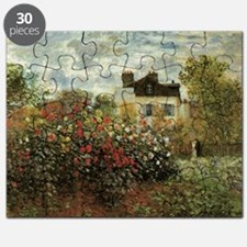 Claude Monet's Garden at Argenteuil Puzzle