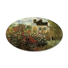 Claude Monet's Garden at Arg Wall Decal