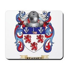 Kearney Coat of Arms (Family Crest) Mousepad