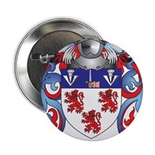 """Kearney Coat of Arms (Family Crest) 2.25"""" Button"""