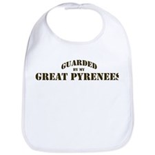 Great Pyrenees: Guarded by Bib