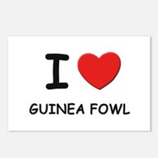 I love guinea fowl Postcards (Package of 8)